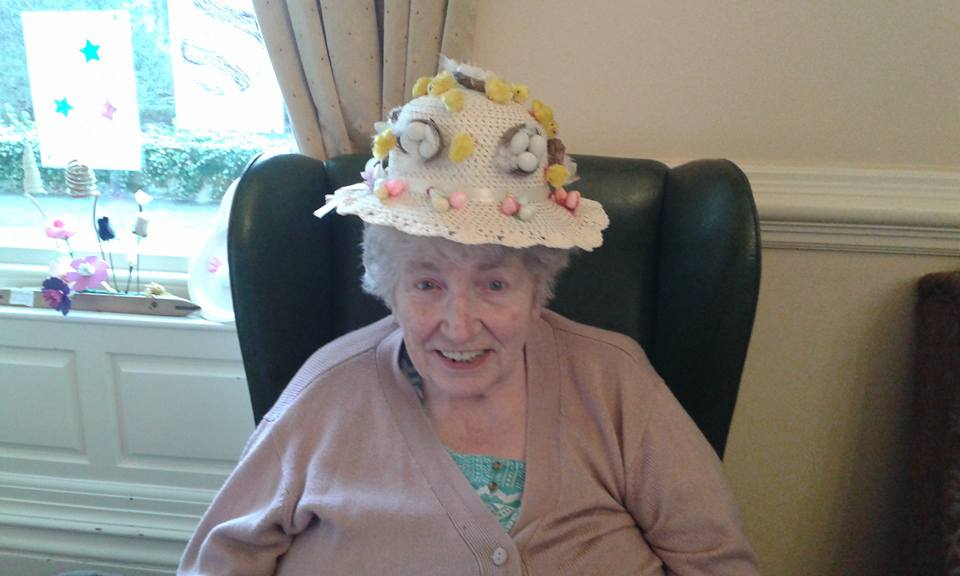 Easter Bonnet Competition at the Ashlands Nursing Home