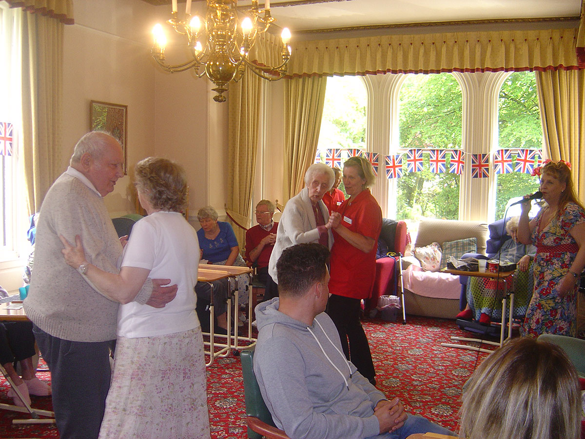 Queens Birthday Celebrations at Ashlands Nursing Home