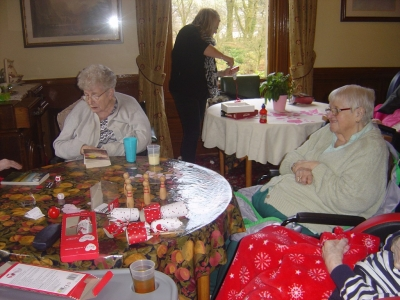 Valentines Day at Ashlands Nursing Home